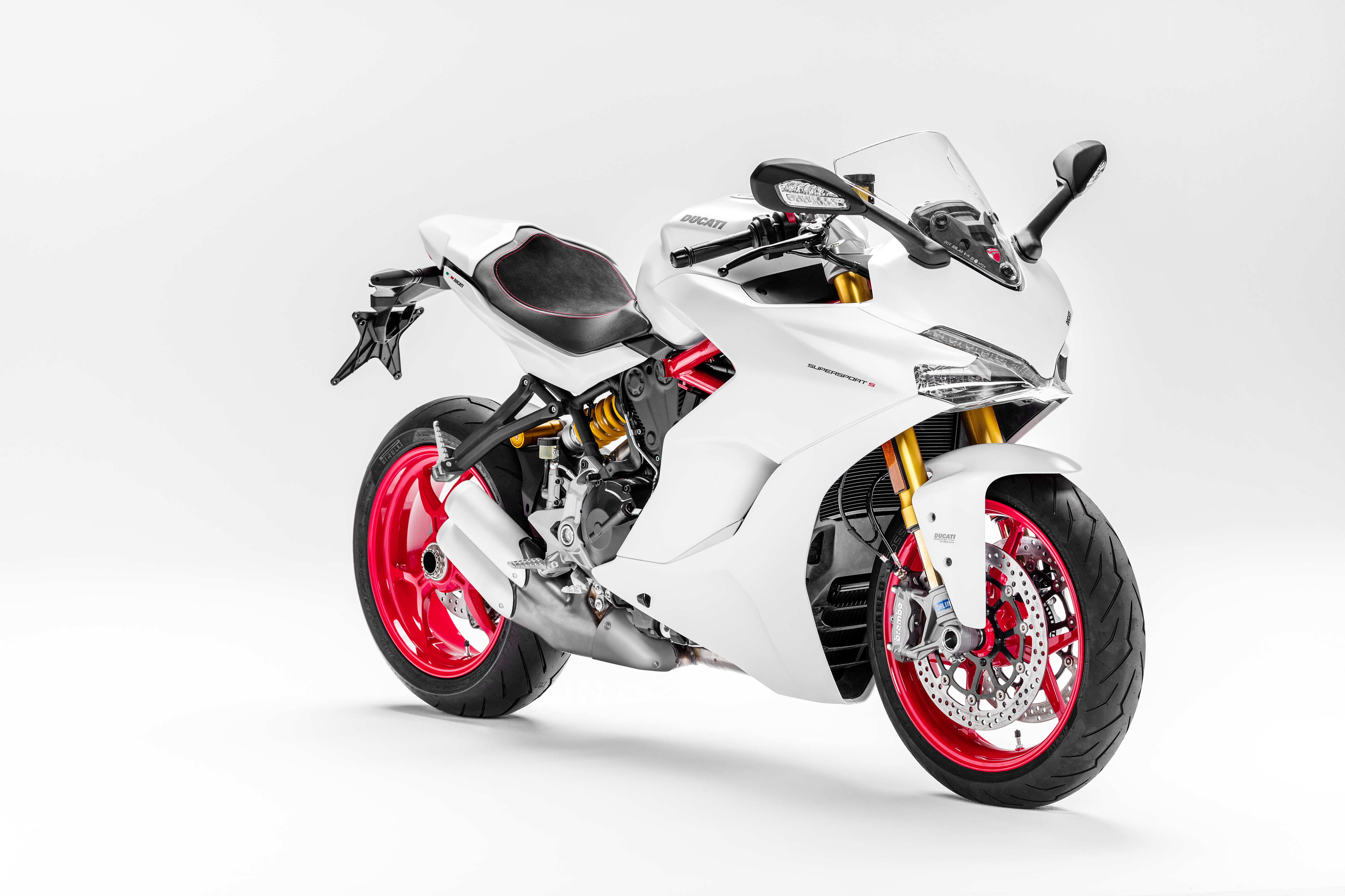 ducati supersport and supersport s debut | visordown