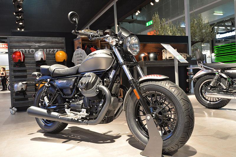 Minor updates for the Moto Guzzi V9
