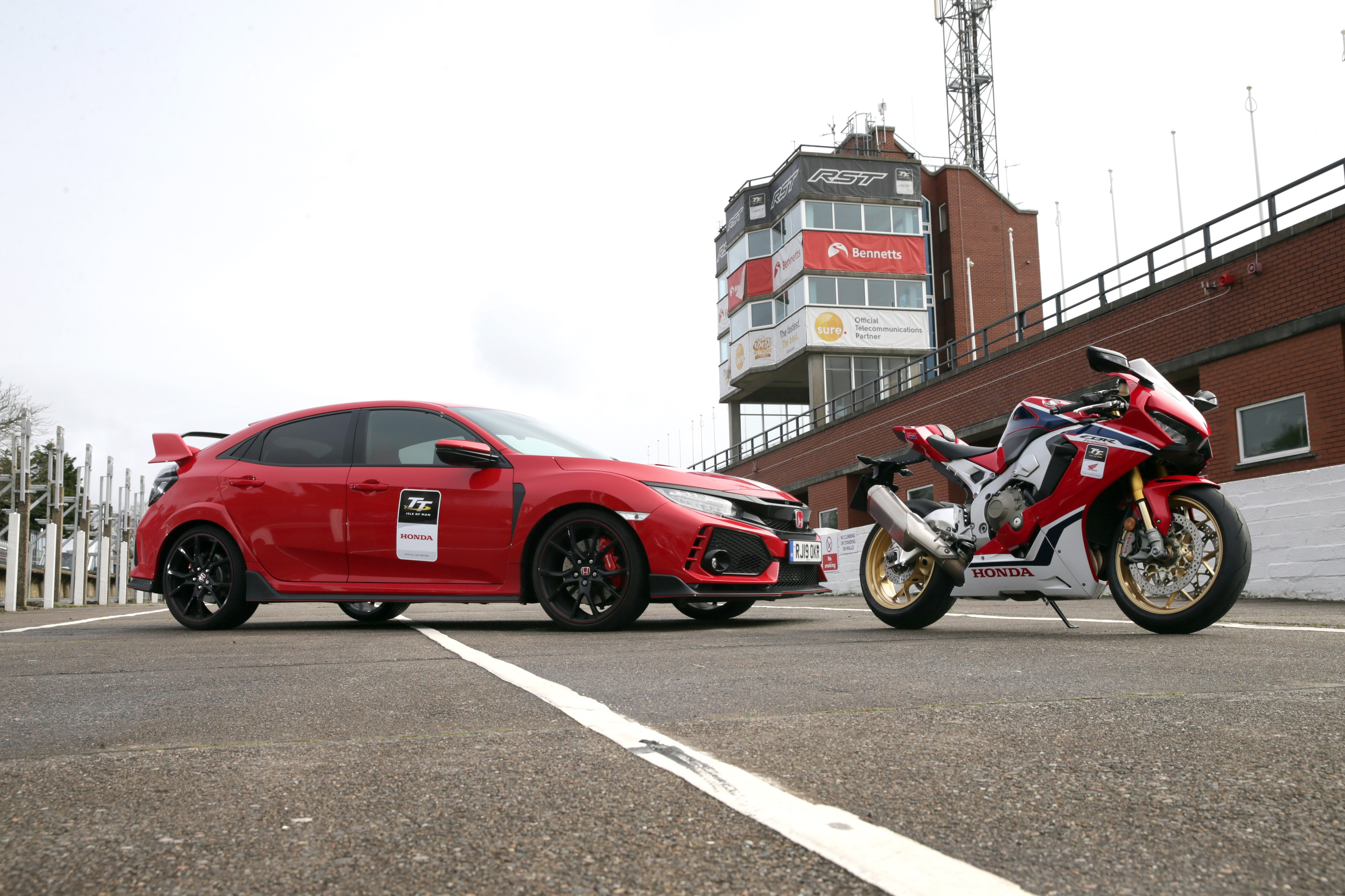 2019 TT Hondas