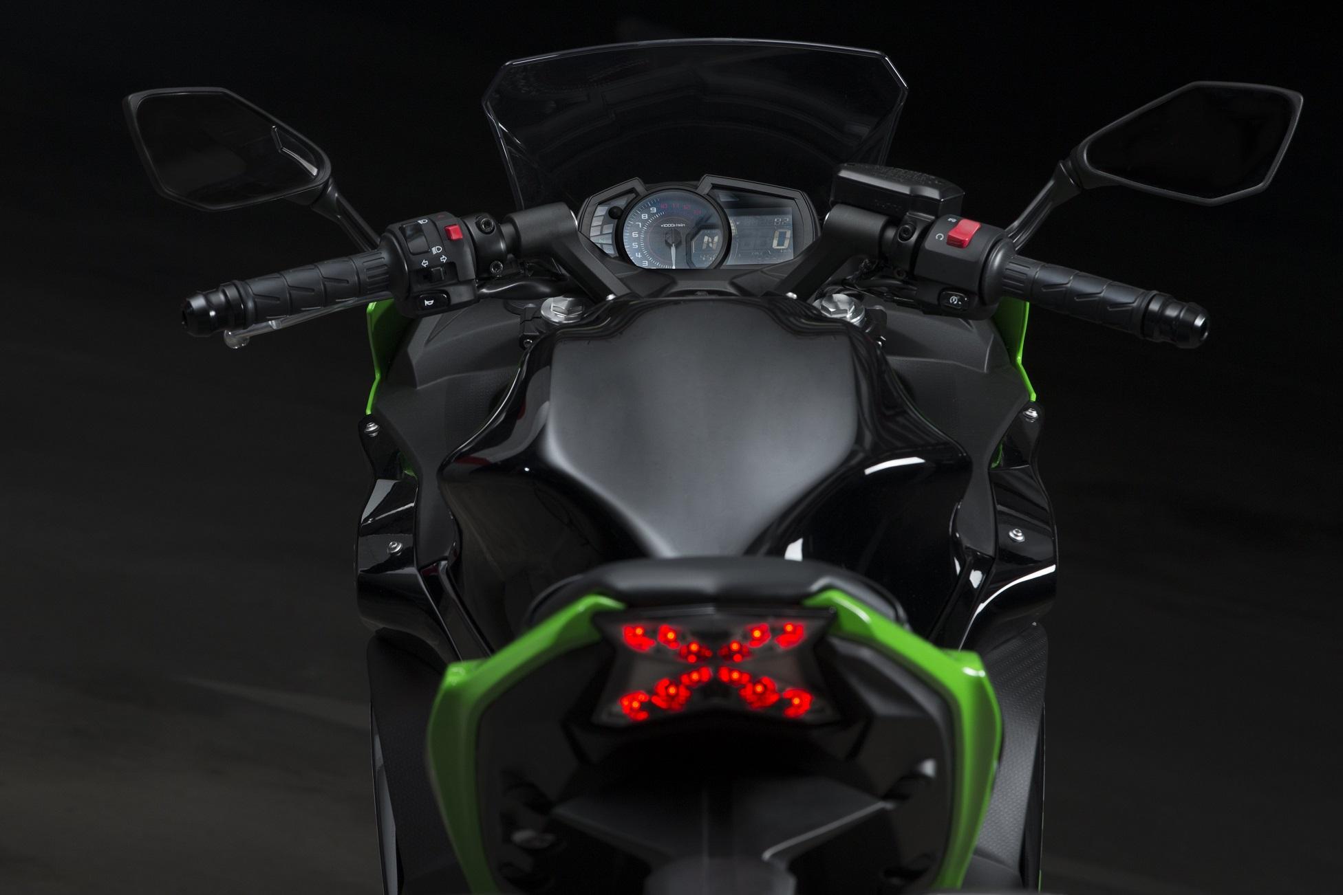 first ride kawasaki ninja 650 review visordown. Black Bedroom Furniture Sets. Home Design Ideas