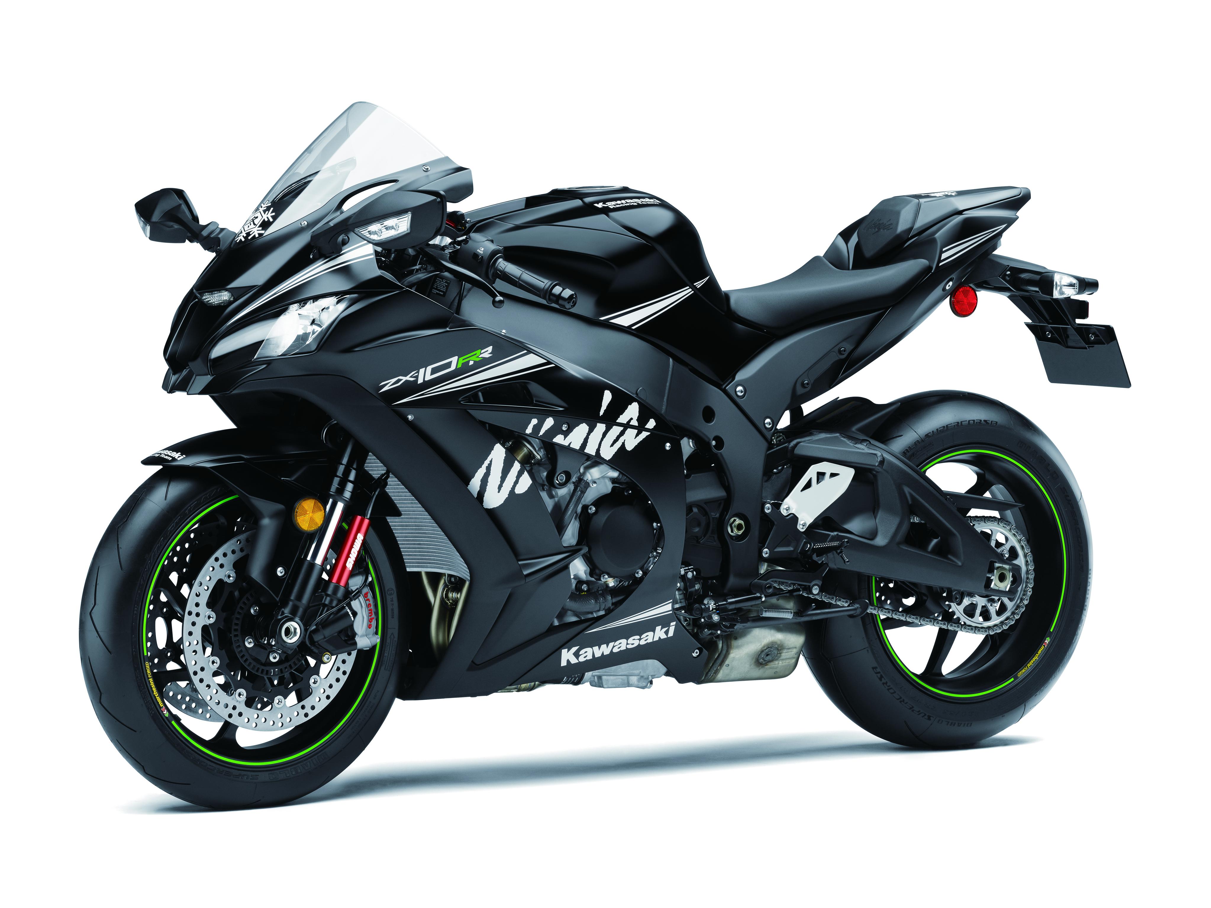 Limited-edition Kawasaki Ninja ZX-10RR debuts