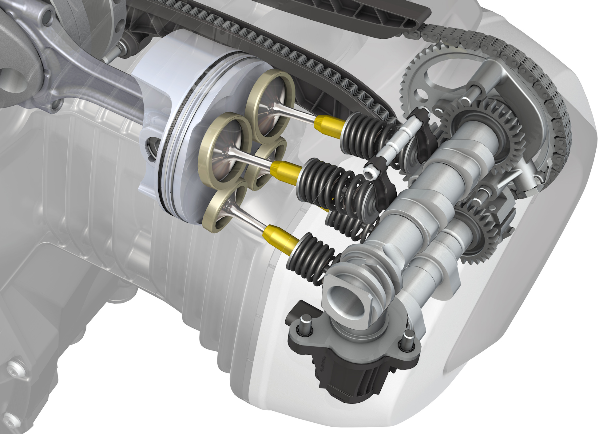 2019 R1250 ShiftCam engine Detail