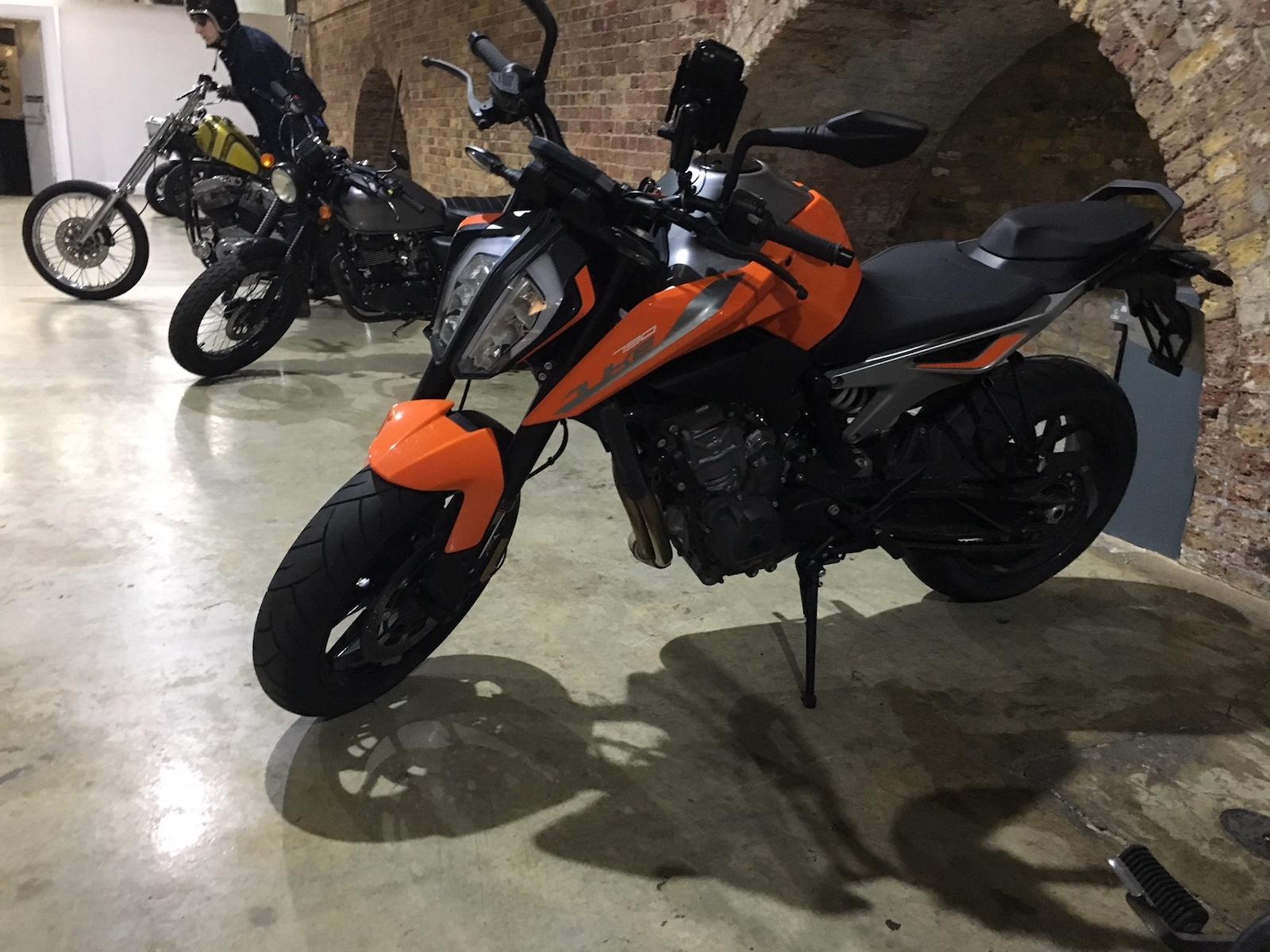 790 Duke in the Bike Shed bike park