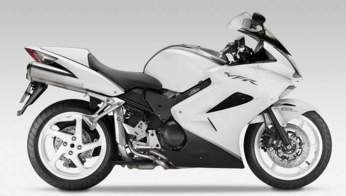 White Ducati Tank Decals