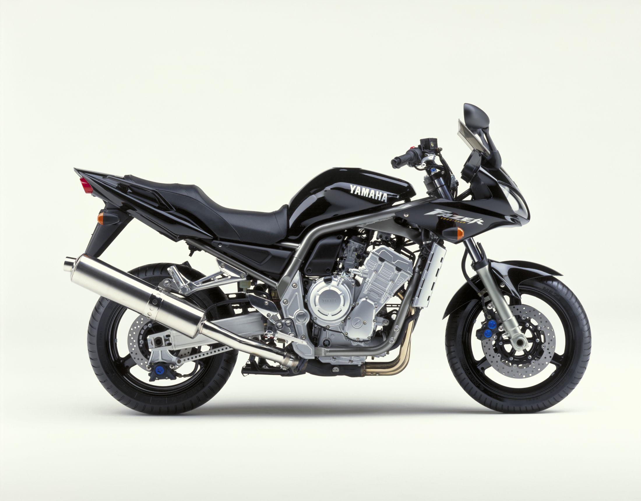 2002 Yamaha FZ-1000*gytr exhaust*corbin seat*black*runs
