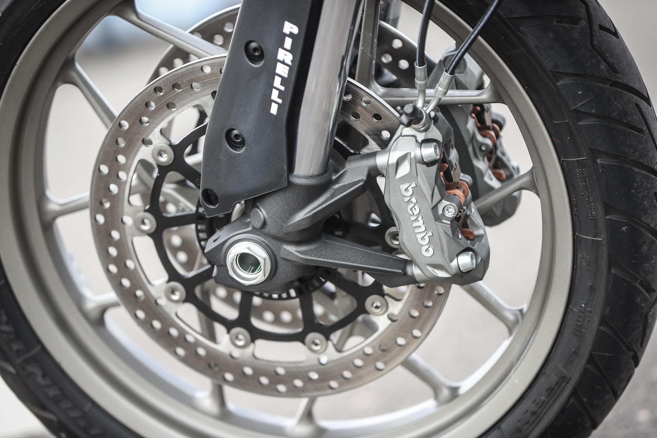 Ducati Multistrada 950 brakes