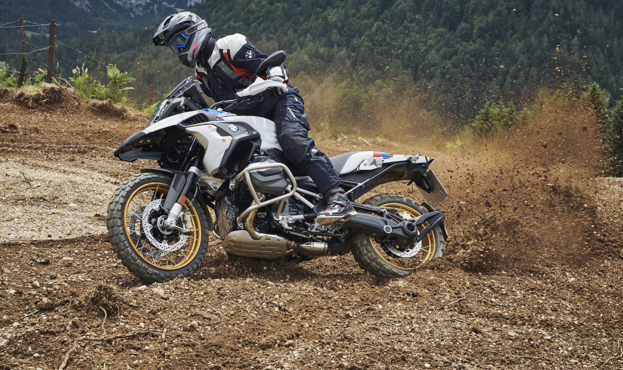 2019 BMW R1250 GS action