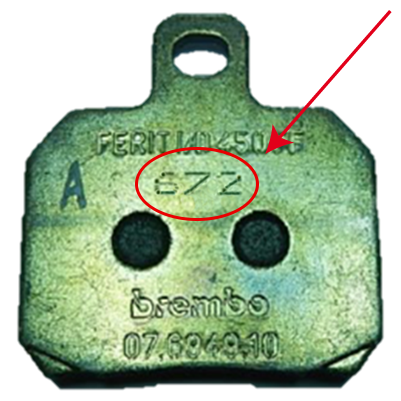Brembo pad recall