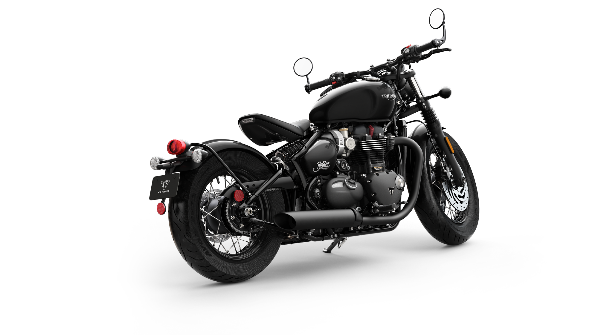 Triumph Bonneville Bobber Black debuts