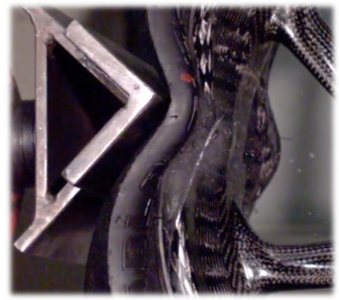 Carbon wheels testing