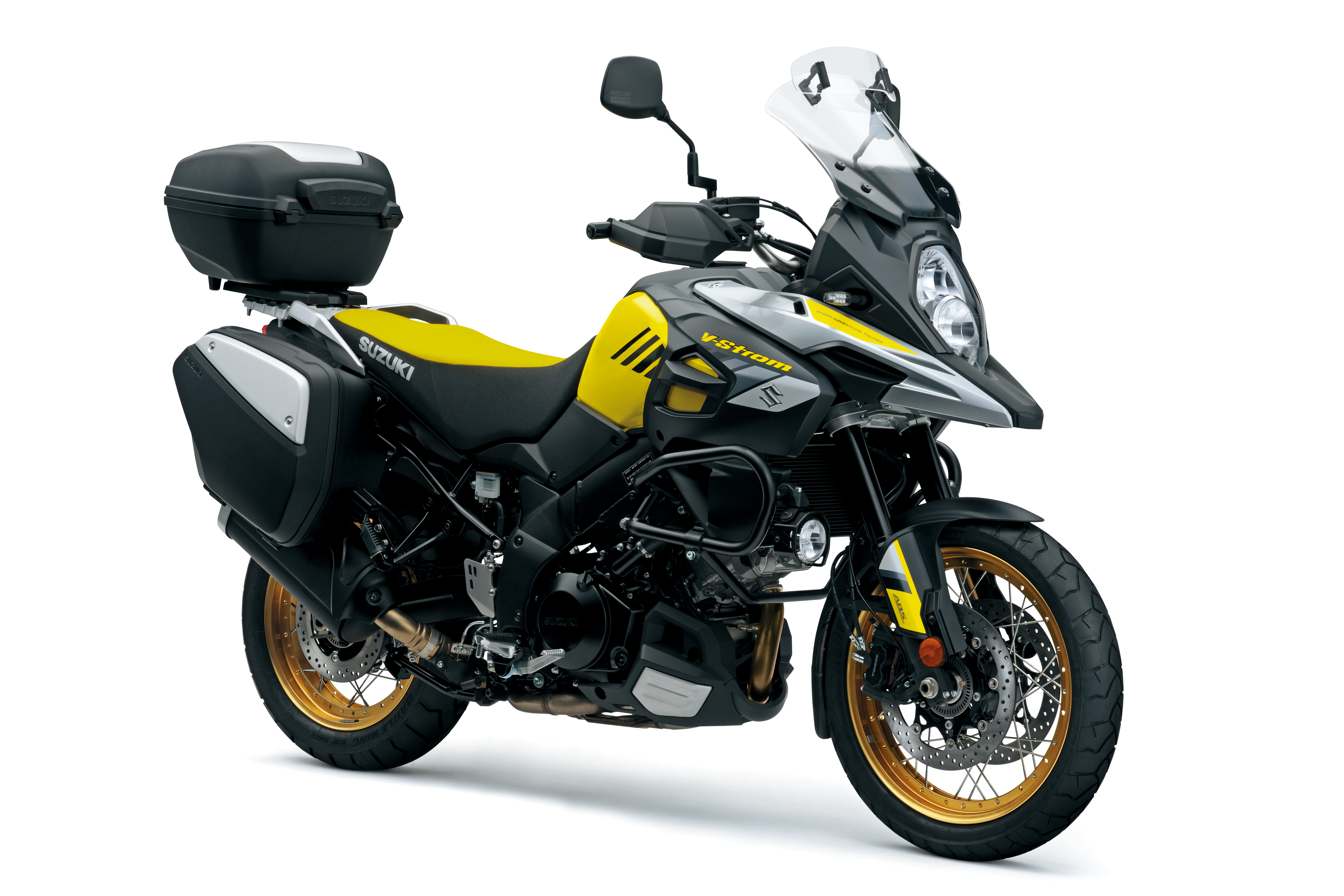 suzuki reveals updated v strom 1000 visordown. Black Bedroom Furniture Sets. Home Design Ideas