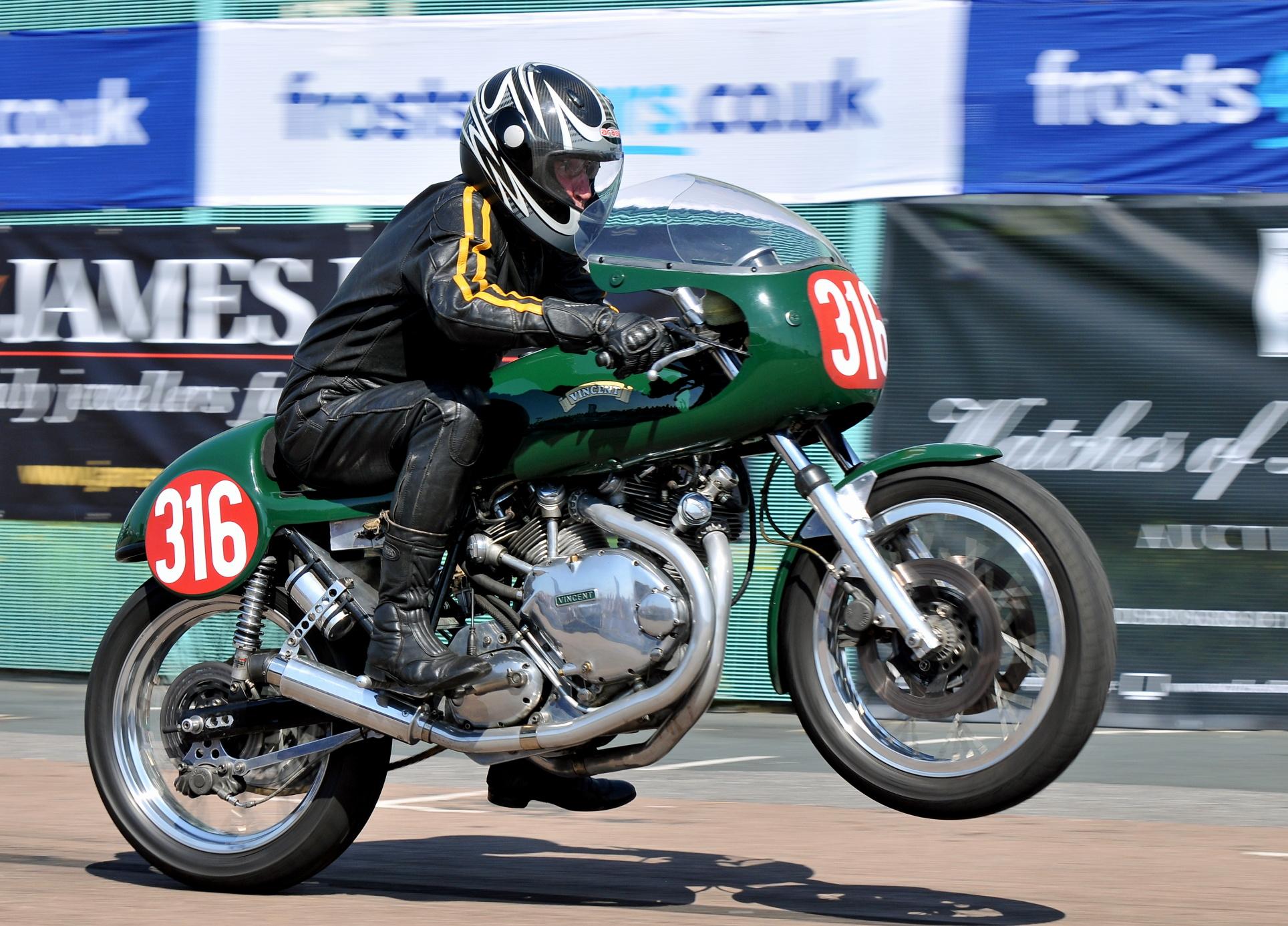 Brighton Speed Trial Vincent