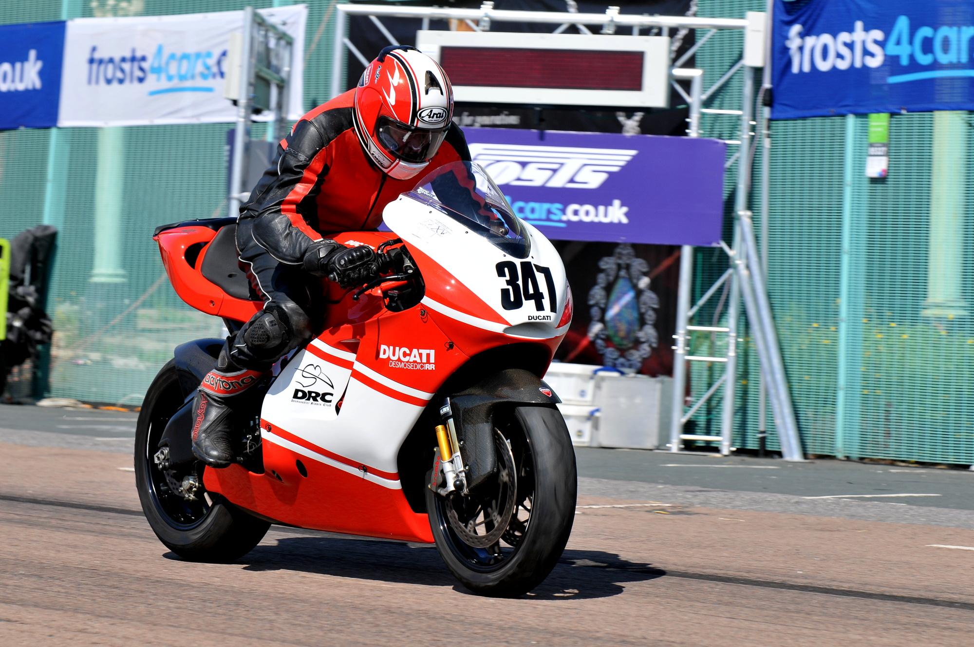 Brighton Speed Trial Desmosedici