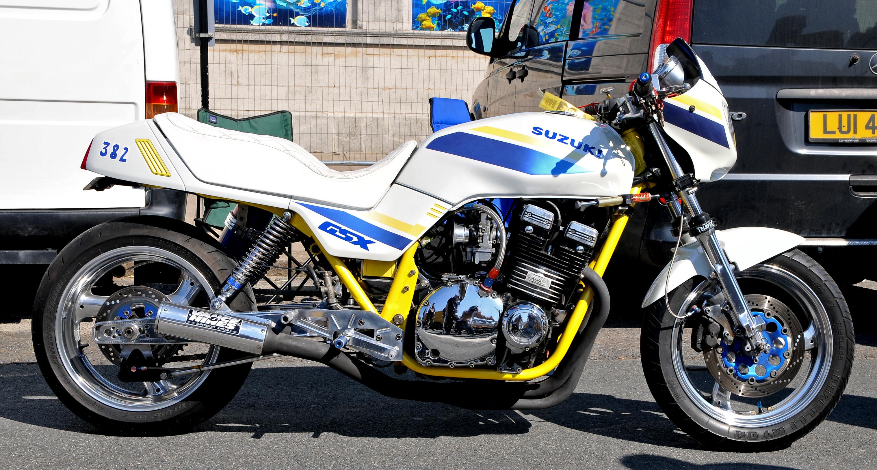 Jeff Dowsett's Suzuki GSX1100