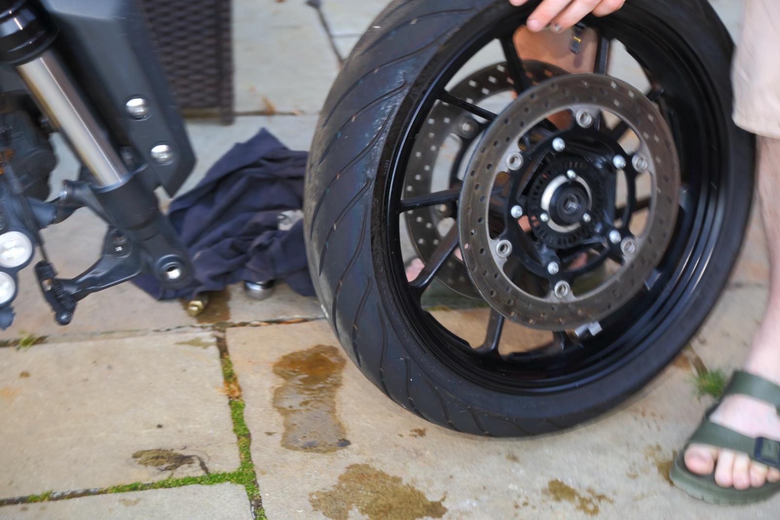 Tracer 900 long termer brake discs
