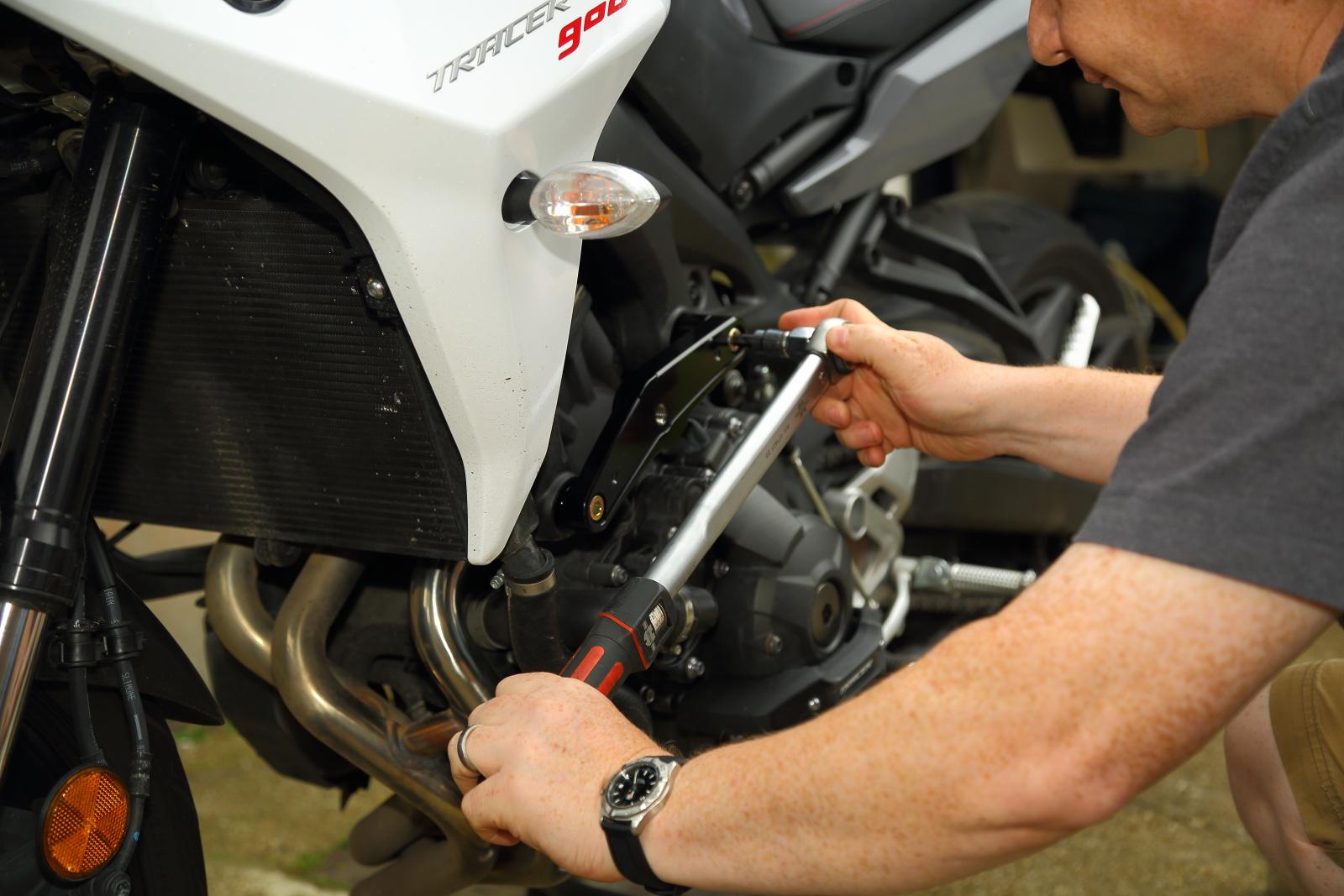 R&G crash protectors for Yamaha Tracer 900