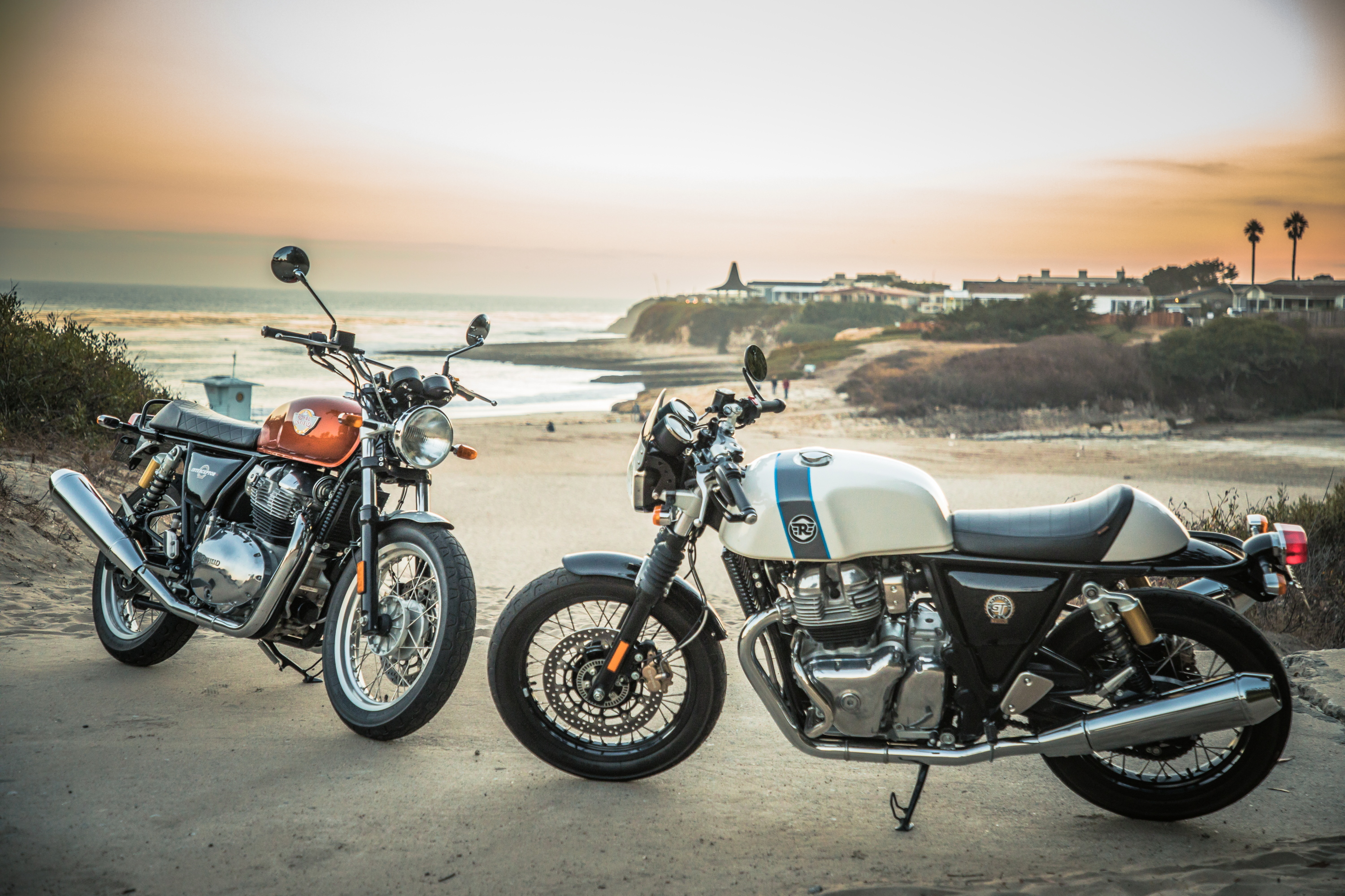 Royal Enfield 650 Interceptor and GT
