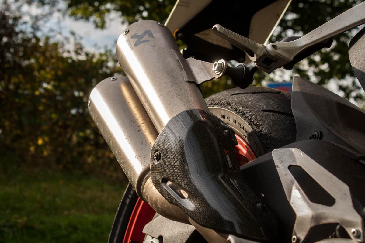 Ducati 959 Panigale Akrapovic exhaust