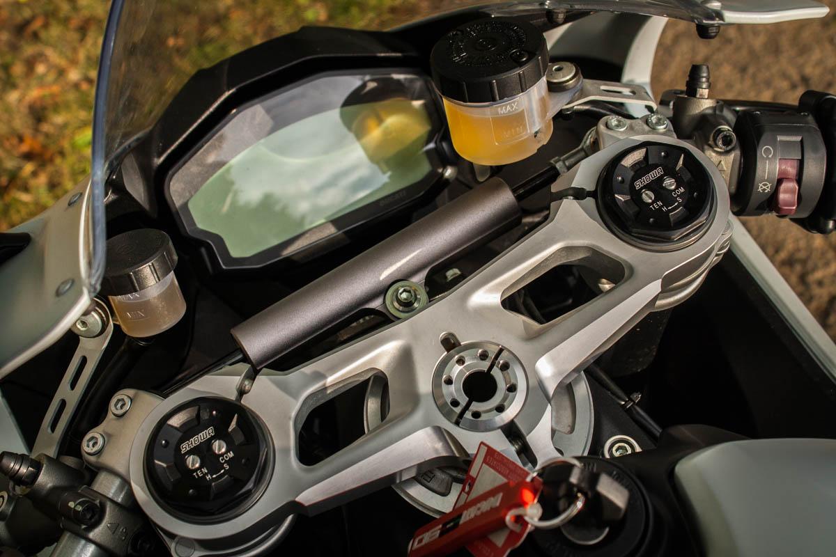 Ducati 959 Panigale dash
