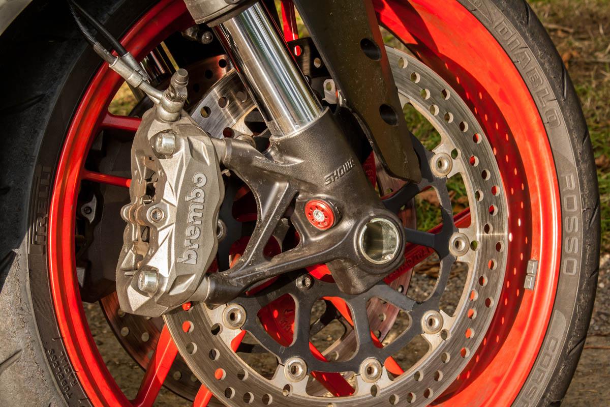 Ducati 959 Panigale Brembo brakes