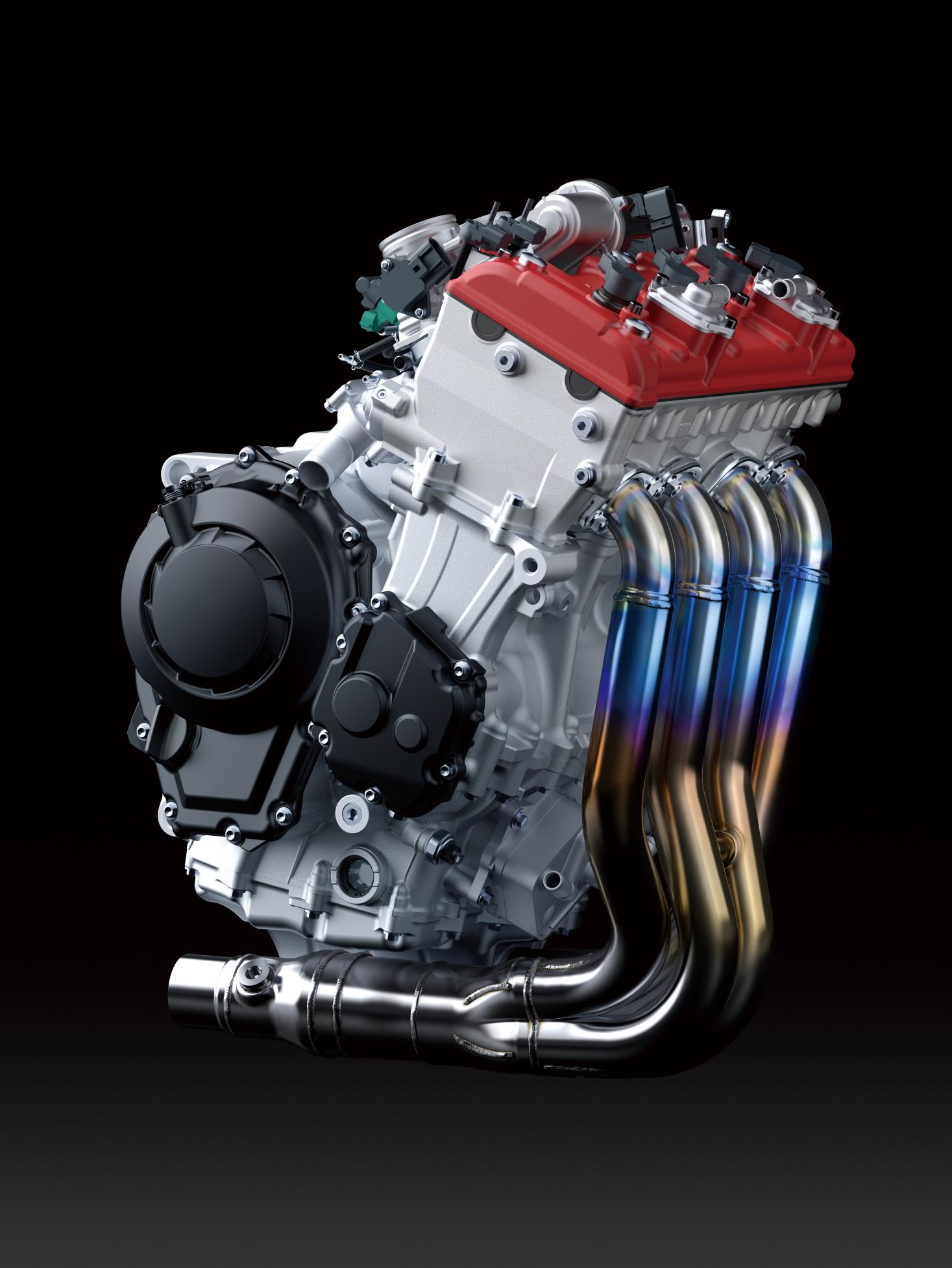 2019 ZX-10R engine