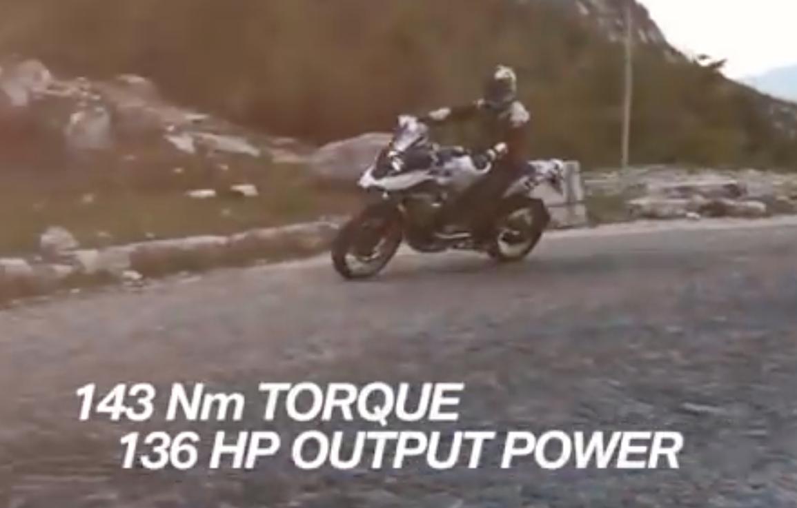 BMW R1250 GS video