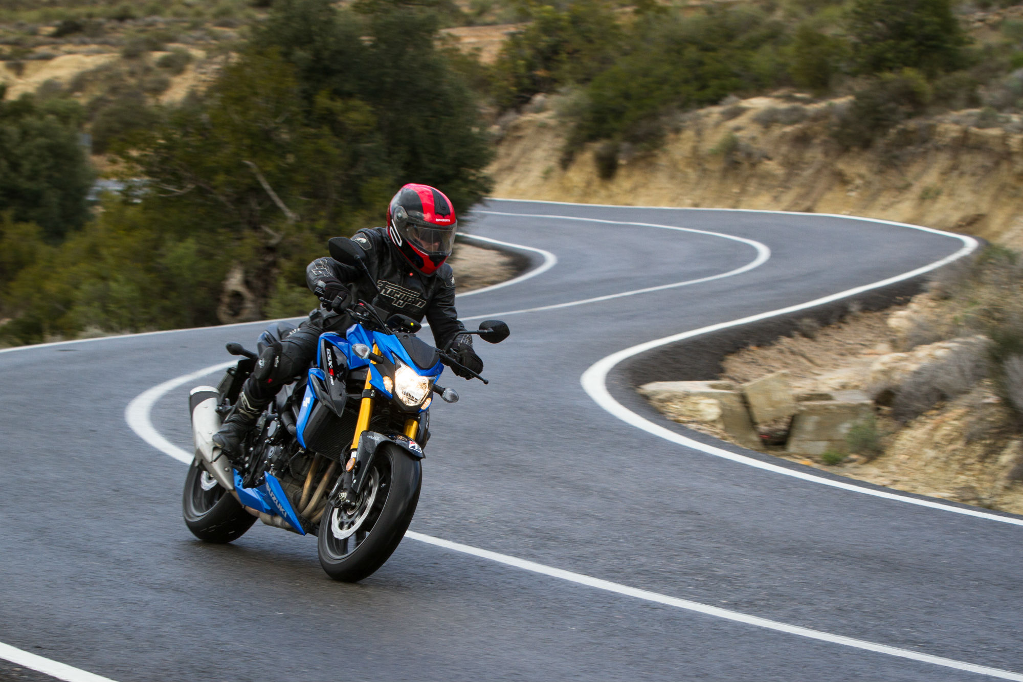 2018 Suzuki GSX-S750 and GSX-S750Z ABS - FIRST LOOK REVIEW | Cycle ...