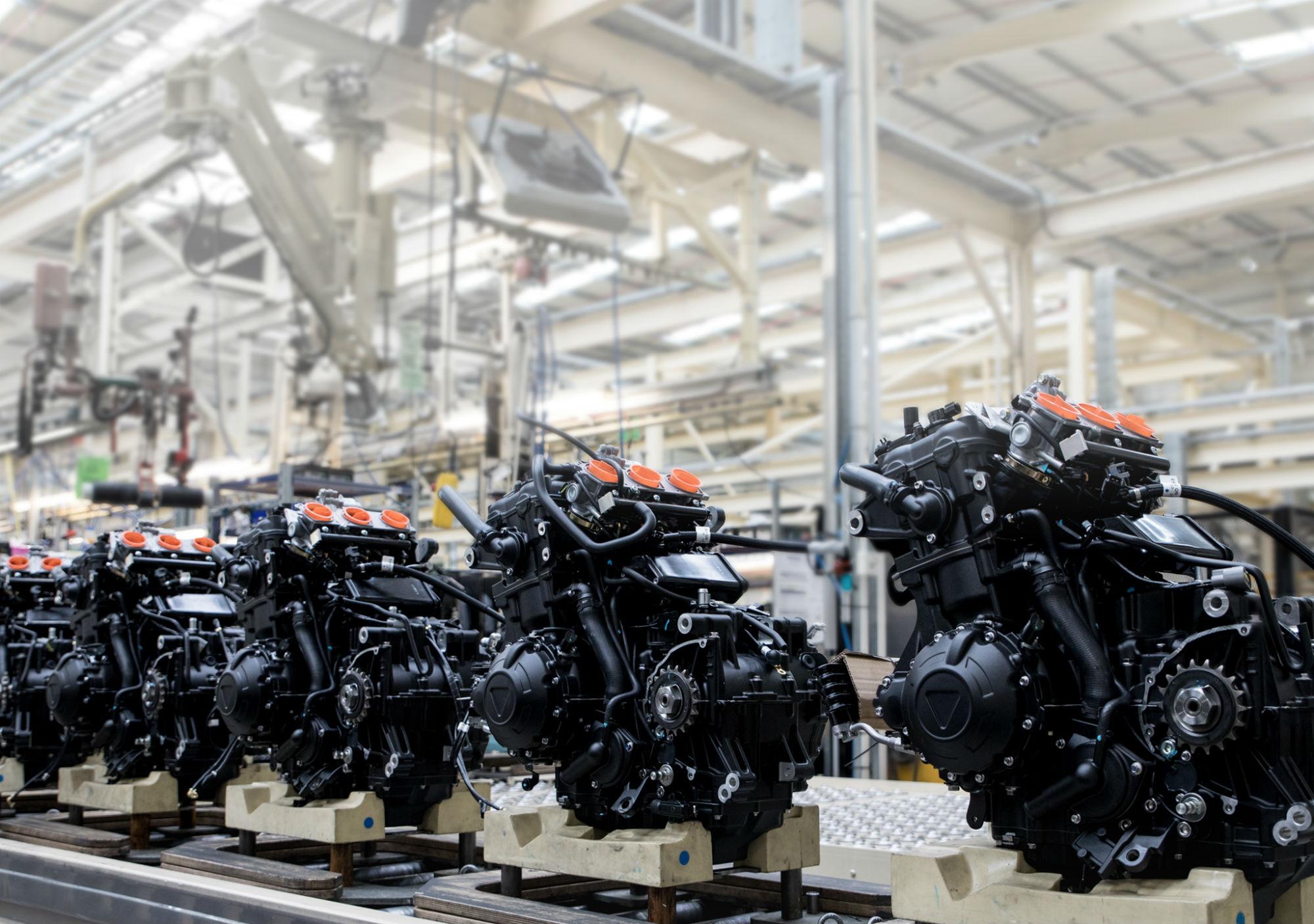 Triumph reveals new factory visitor centre