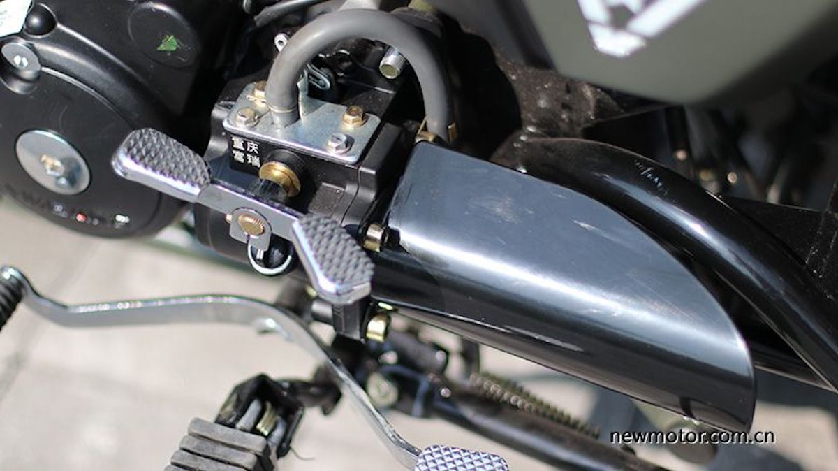 Jingang 200cc sidecar