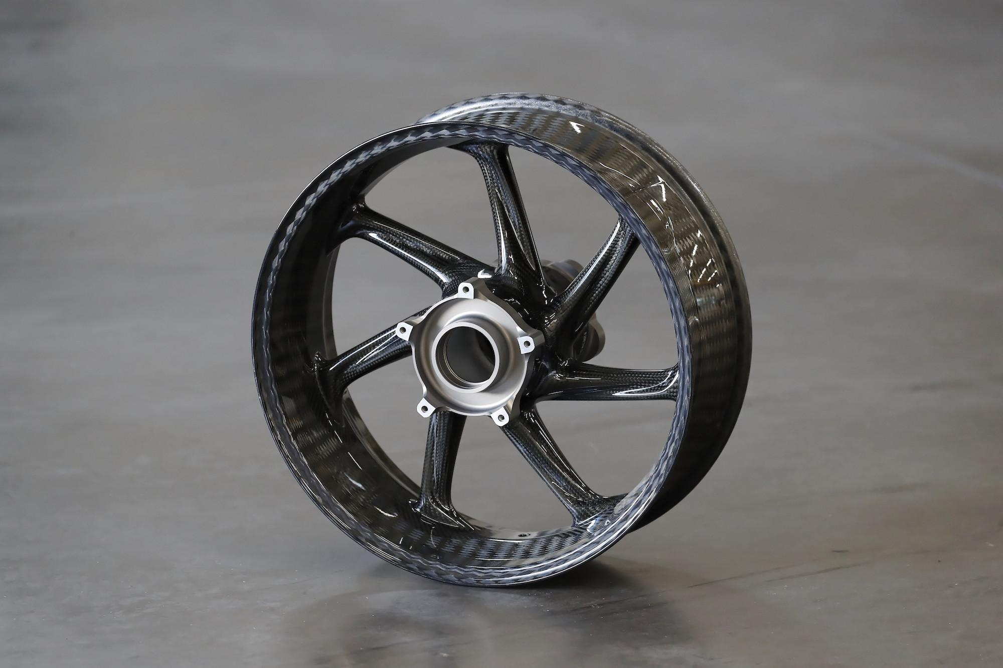 Carbon BMW wheels