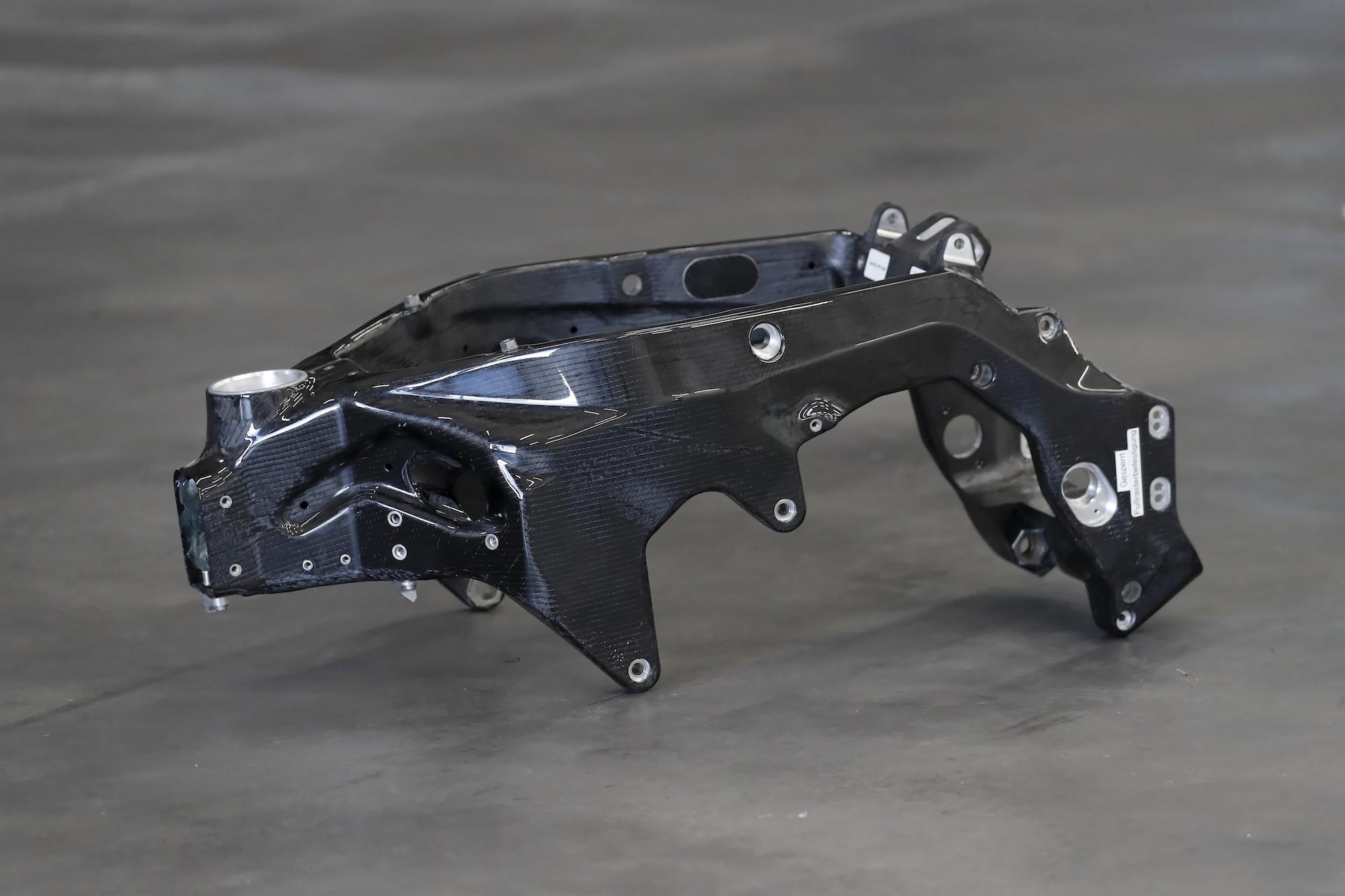 BMW HP4 Race carbon frame