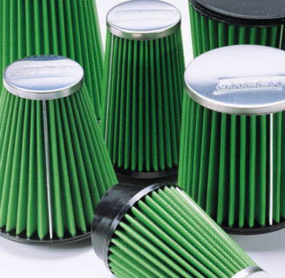 New Green High Performance air filters