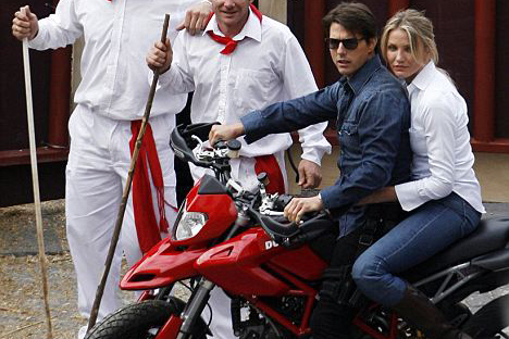 Tom Cruise: I bought my first motorcycle aged 10