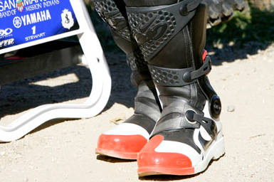 1ea1774c7b05a5 ... Bubba Stewart unveils Nike MX boots ...