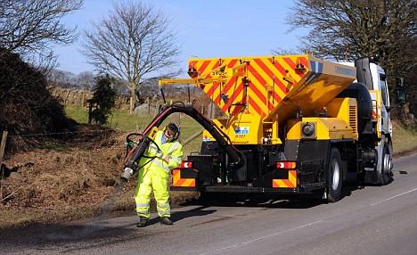 The end for UK's 1.6 million potholes?
