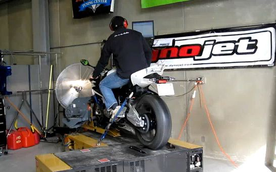 Hi-Def video of BMW S1000RR on the dyno