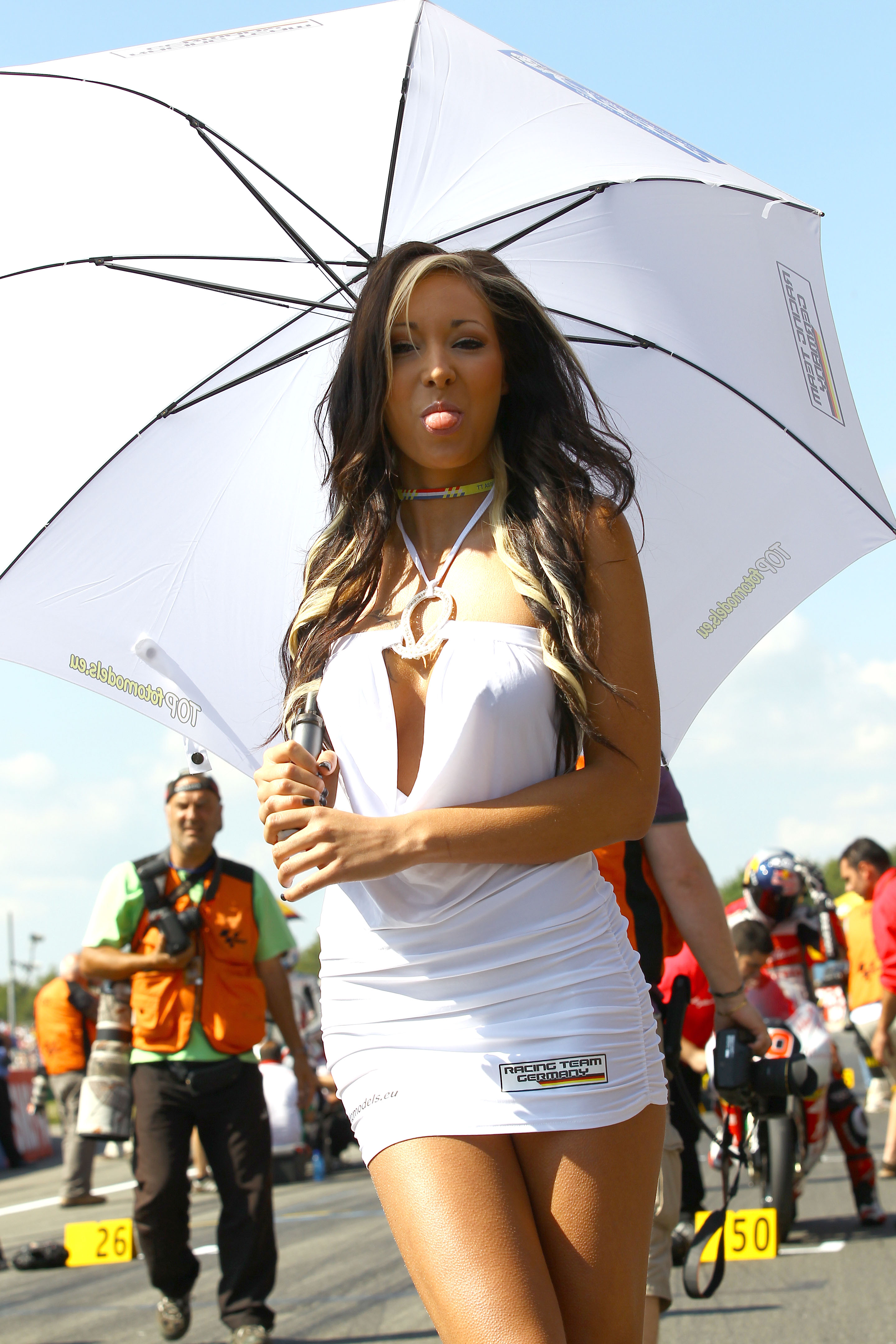MotoGP Grid Girl Gallery - Assen 2010 | Visordown
