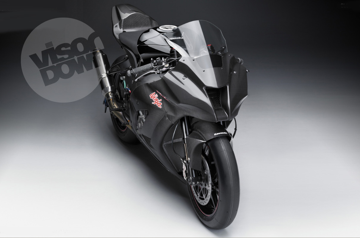 THIS IS The Worlds First Official Image Of Kawasakis 2011 ZX 10R Racer