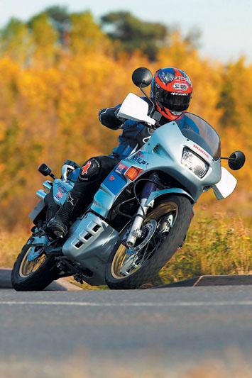 Used test - 2002 Honda Transalp