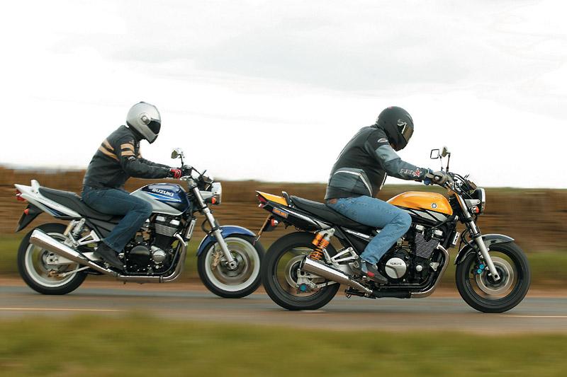 Retro Cool Honda Cb1300 Yamaha Xjr1300 Visordown