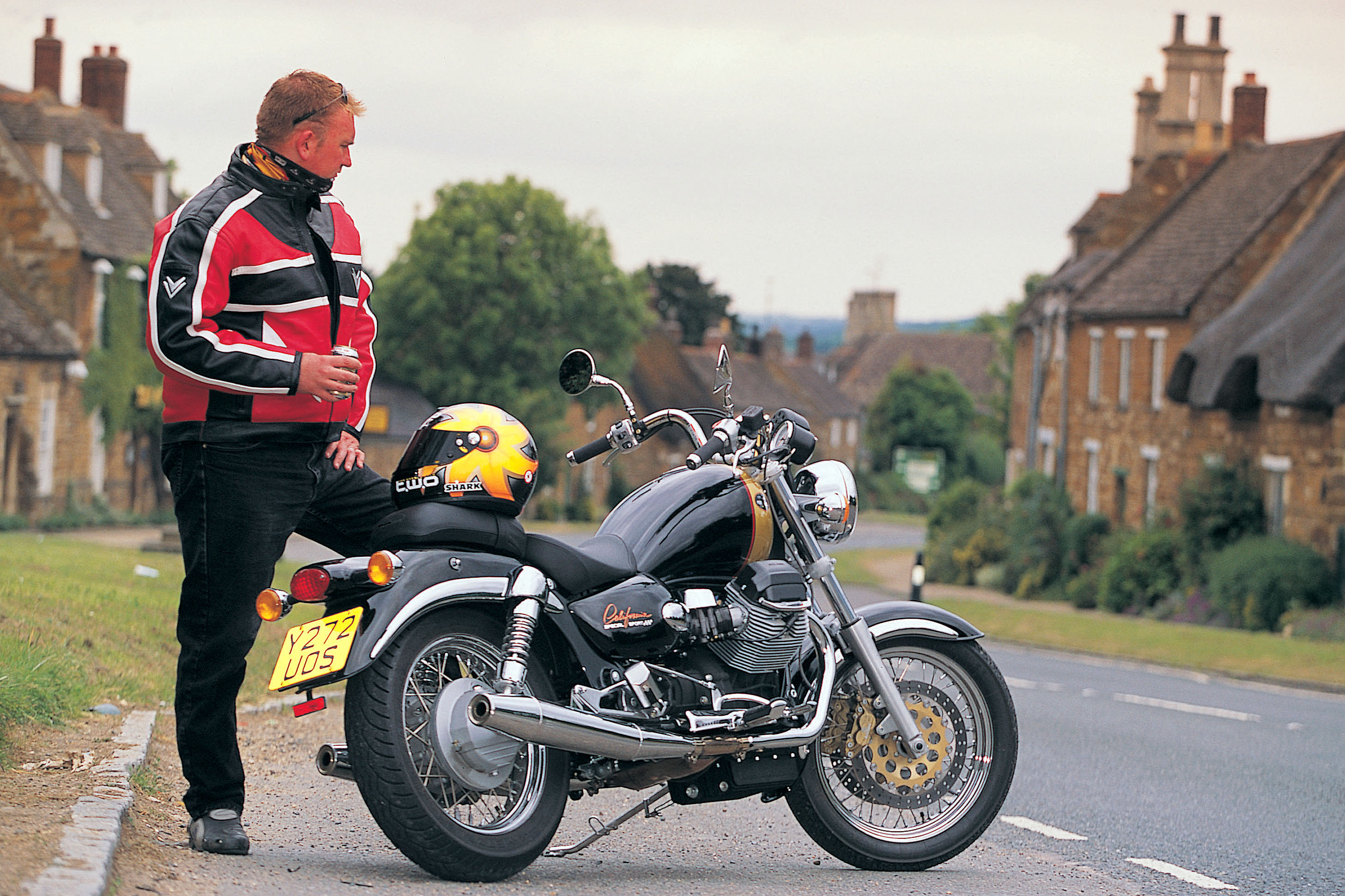 first ride: 2001 moto guzzi california s | visordown