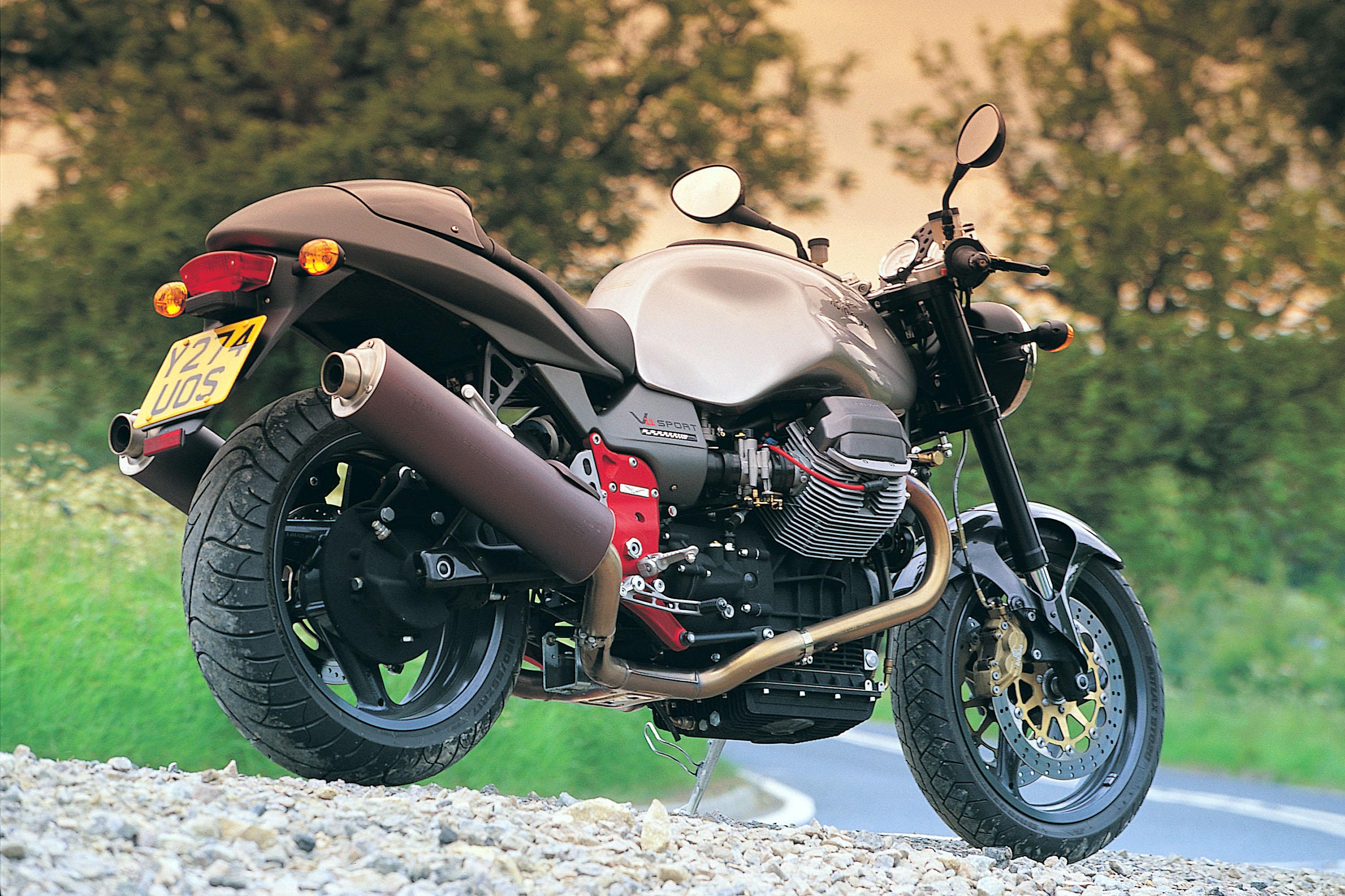 first ride: 2001 moto guzzi v11 sport na | visordown