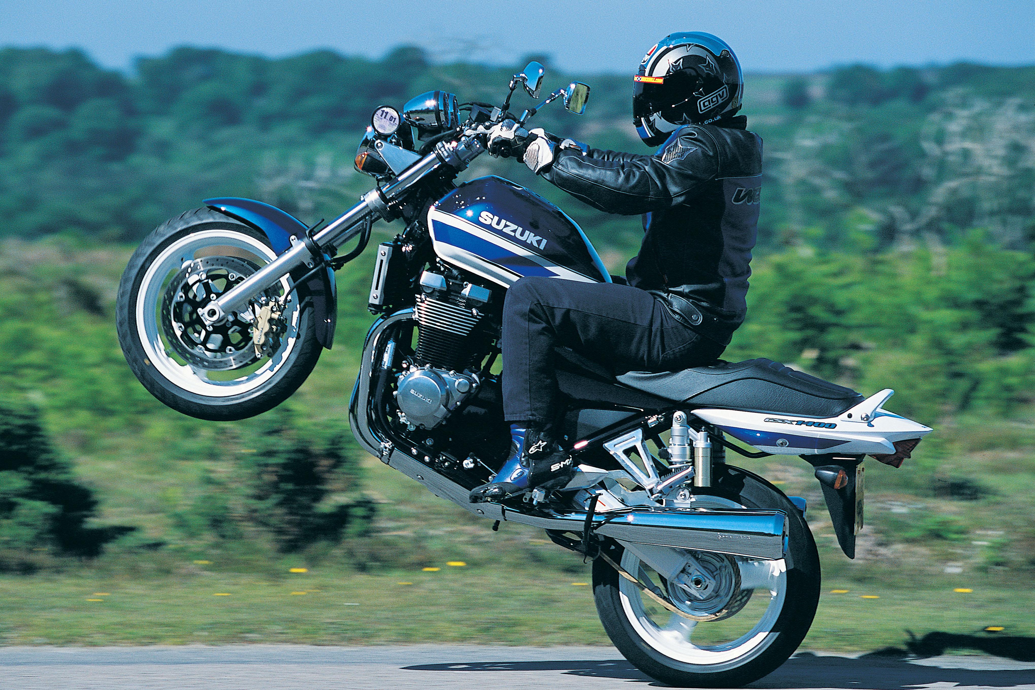 First Ride 2002 Suzuki Gsx1400 Review Road Tests First