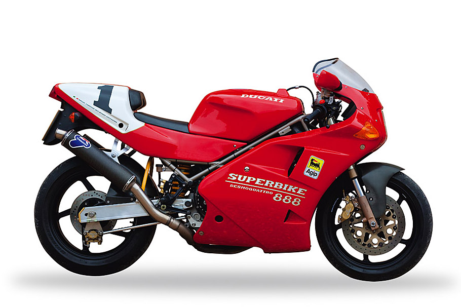 1993 ducati 888 sp5 visordown