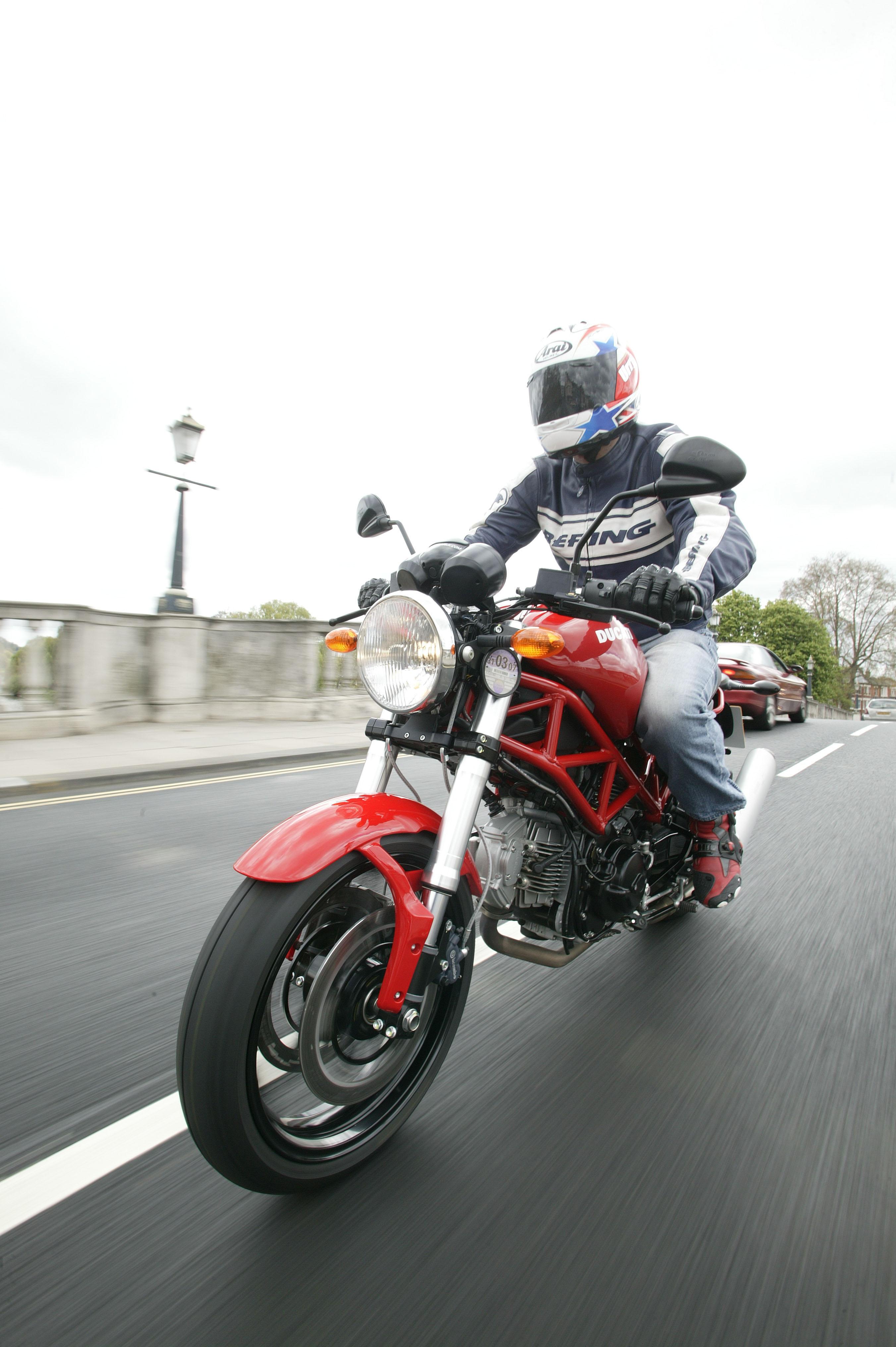 First Ride 2006 Ducati Monster 695 Visordown