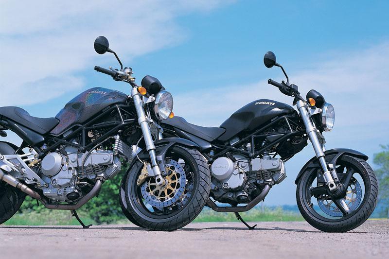 Ducati Monster 600 Dark Motorrad Bild Idee