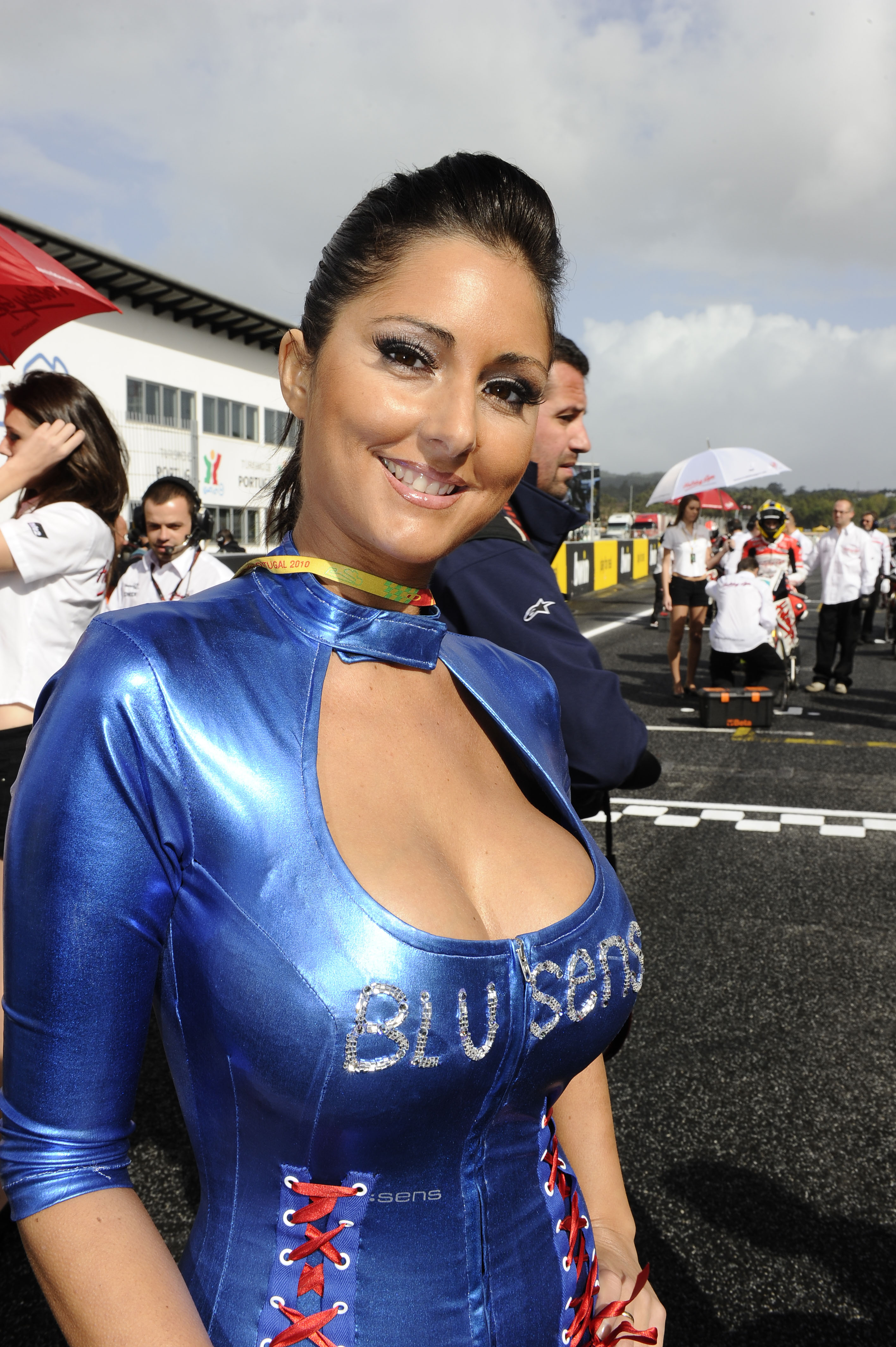 Estoril MotoGP grid girl gallery | Visordown