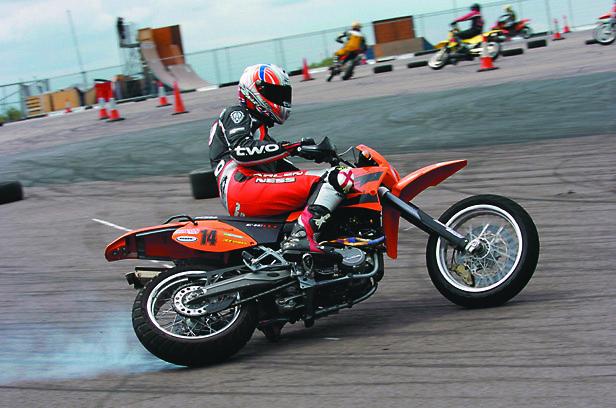 California Superbike School Supermoto review