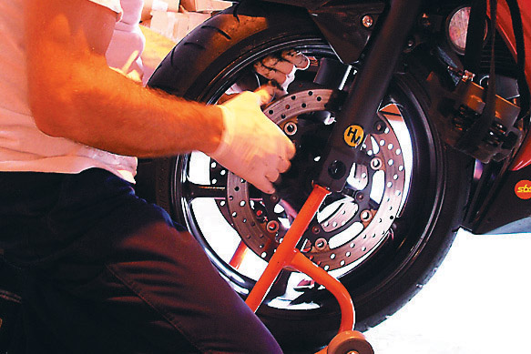 10 Steps for easy wheel removal