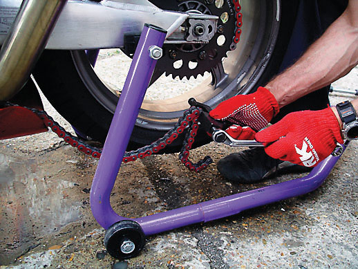 10 Steps for changing your chain